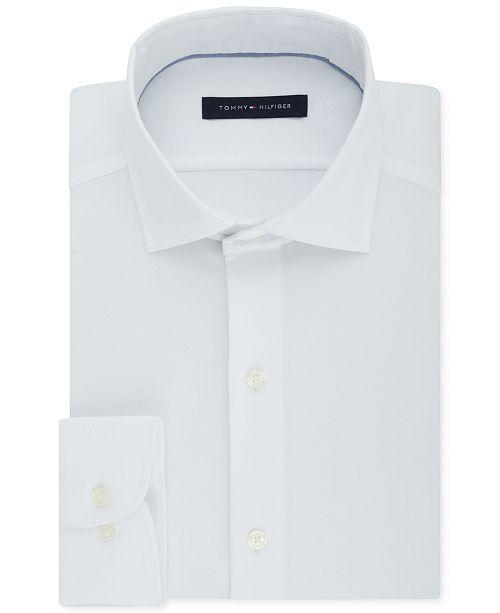 3d2d00f0 Tommy Hilfiger Men's Big & Tall Classic/Regular Fit Non-Iron Stretch Dress  Shirt