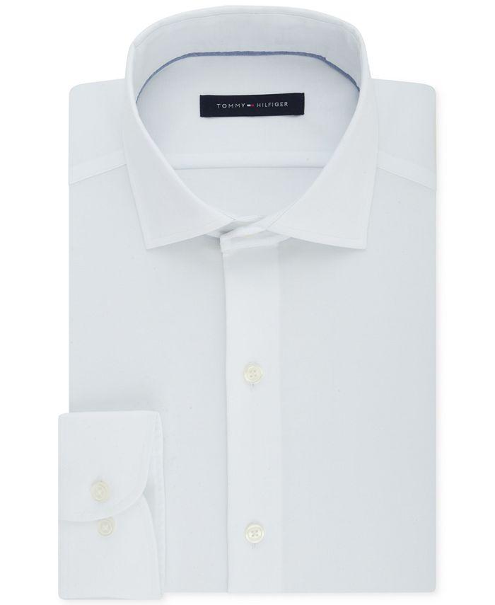 Tommy Hilfiger - Men's Big & Tall Classic/Regular Fit Non-Iron Stretch Dress Shirt