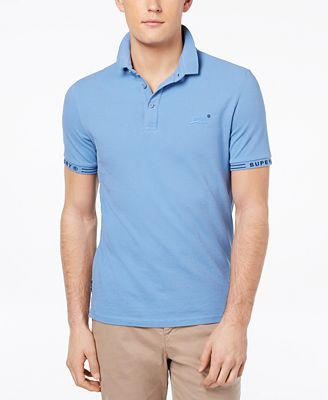 City Jaquard Pique Polo Shirt Superdry