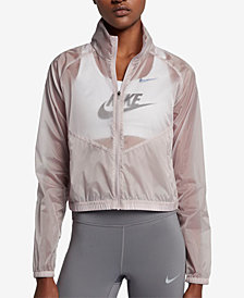 Nike Transparent Running Jacket