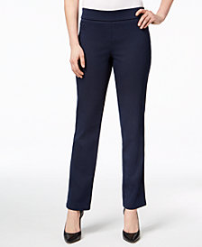 JM Collection Super-Stretch Pull-On Pants, Created for Macy's