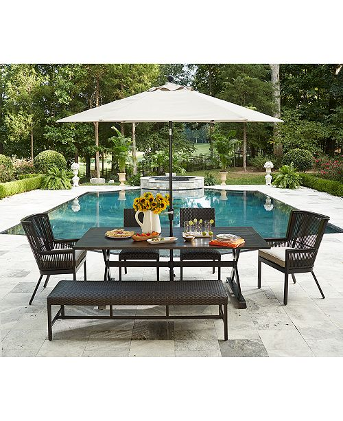 main image; main image ... - Furniture CLOSEOUT! Savannah Outdoor Dining Collection, With