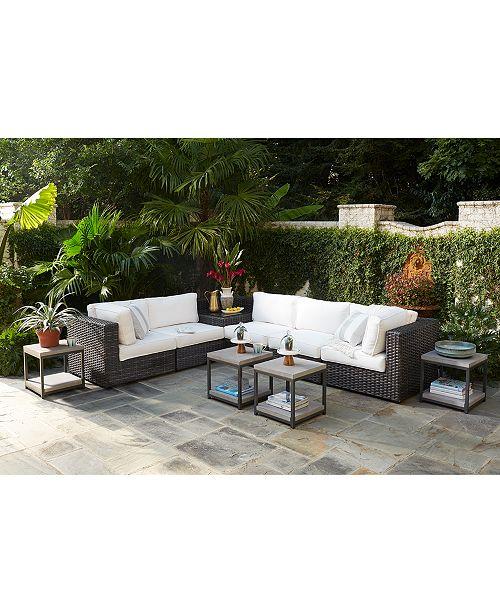 Furniture Viewport Outdoor Modular Seating, with Sunbrella® Cushions,  Created for Macy's - Furniture - Macy's - Furniture Viewport Outdoor Modular Seating, With Sunbrella® Cushions