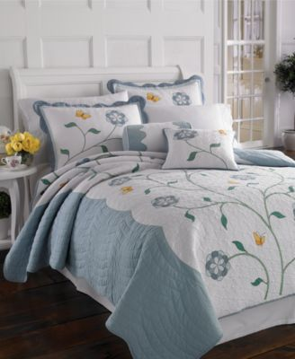 Lenox Bedding, Butterfly Meadow Quilt