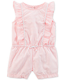 Carter's Ruffled Romper, Baby Girls