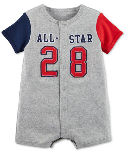 Carter's All-Star Cotton Romper, Baby Boys