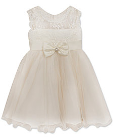 Baby Girls 24M Rare Editions White Lace Illusion Dress