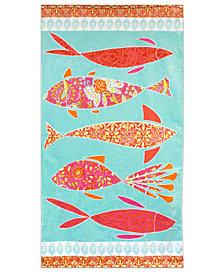 "Dena Mineko 34"" x 66"" Printed Beach Towel"