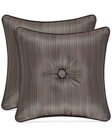 "J Queen New York Astoria 16"" Square Decorative Pillow"