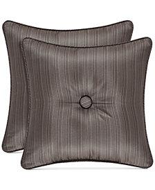 "J Queen New York Astoria 16"" Square Decorative Pillow"
