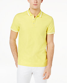 Calvin Klein Men's Liquid Touch Solid Polo