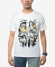 Sean John Men's No Strength Without Untiy Embroidered Graphic-Print T-Shirt, Created for Macy's