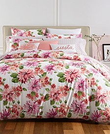 CLOSEOUT! Bouquet 3-Pc. King Duvet Cover Set, Created for Macy's