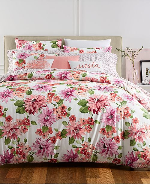 Charter Club CLOSEOUT! Bouquet Bedding Collection, Created for Macy's