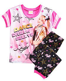 Nickelodeon's® JoJo Siwa 2-Pc. Pajama Set, Little Girls & Big Girls
