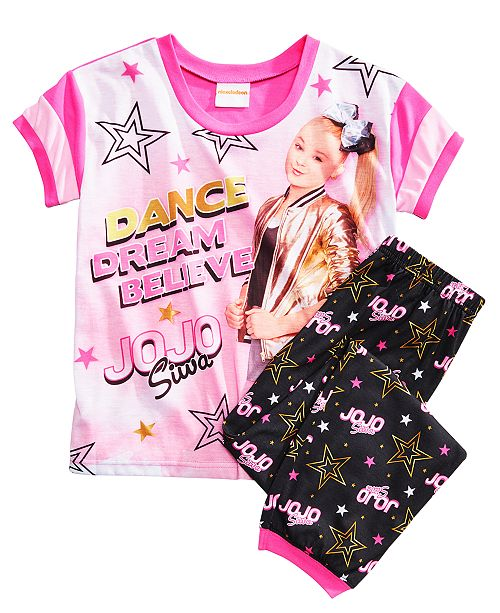 008dd6392522b Nickelodeon JoJo Siwa 2-Pc. Pajama Set