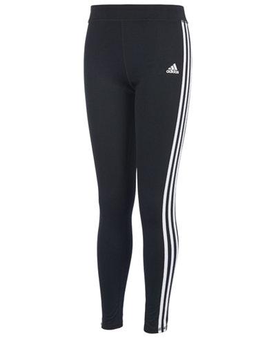 adidas Full-Length Leggings, Big Girls