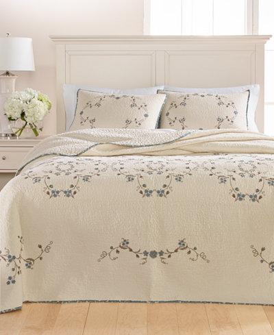 Martha Stewart Collection Westminster Vines Cotton Queen