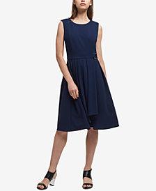 DKNY Pleated A-Line Dress, Created for Macy's