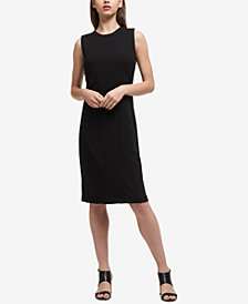 DKNY Seamed Sheath Dress, Created for Macy's