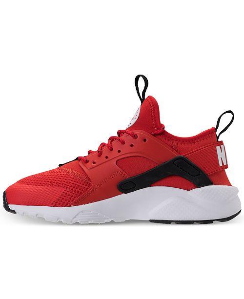 quality design 88539 6b395 ... Nike Big Boys  Air Huarache Run Ultra Running Sneakers from Finish ...