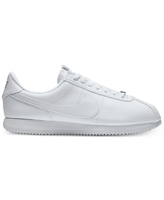 Nike Men S Cortez Basic Leather Casual Sneakers From Finish Line