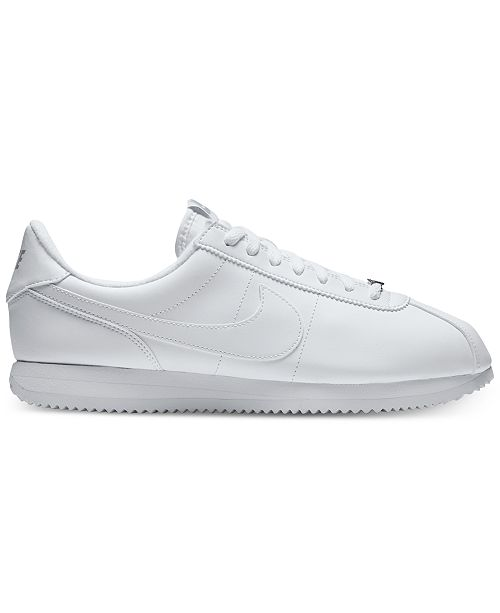 info for a7b8a 483ff ... Nike Men s Cortez Basic Leather Casual Sneakers from Finish ...
