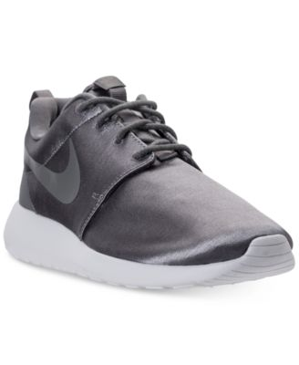 women's roshe one premium casual sneakers from finish line