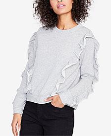 RACHEL Rachel Roy Ruffled Long-Sleeve Sweatshirt, Created for Macy's