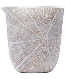 White Poly Large Jar