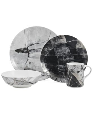 Aiden Platinum 4-Piece Place Setting