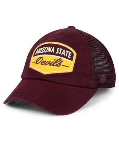 competitive price 24c06 98bdb ... closeout top of the world arizona state sun devils society adjustable  cap 36220 e31c9