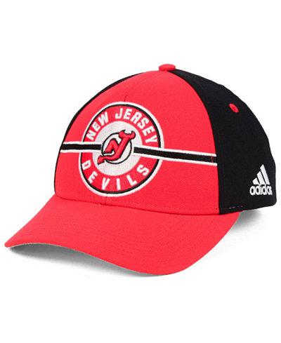 adidas New Jersey Devils Circle Adjustable Cap