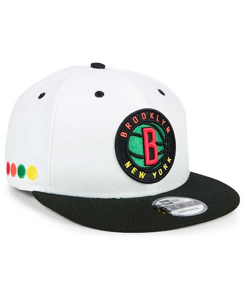 competitive price 46c98 86027 ... New Era Brooklyn Nets City Series 9FIFTY Snapback Cap ...