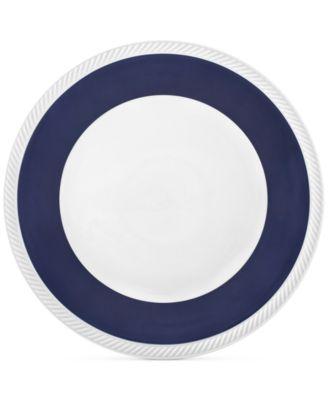 Twist Midnight  Dinner Plate