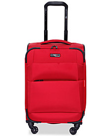 "Revo Airborne 20"" Softside Spinner Suitcase, Created for Macy's"