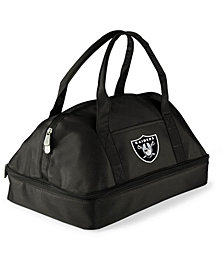 Picnic Time Oakland Raiders Potluck Carrier