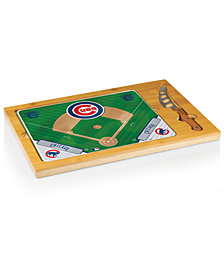 Picnic Time Chicago Cubs Icon Cutting Board
