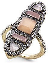 I.N.C. Brass Multi-Stone Ring, Created for Macy's