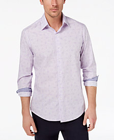 Tasso Elba Men's Paisley Medallion-Print Shirt, Created for Macy's