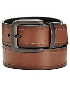 Levi's® Men's  Double Threaded Reversible Leather Belt