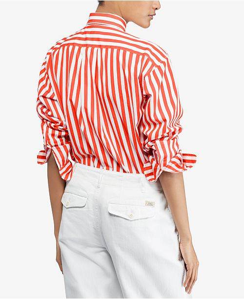Sale Ralph Stripe Ties Polo Bengal Shirt 15d3d Lauren 27389 hCBrodxQts
