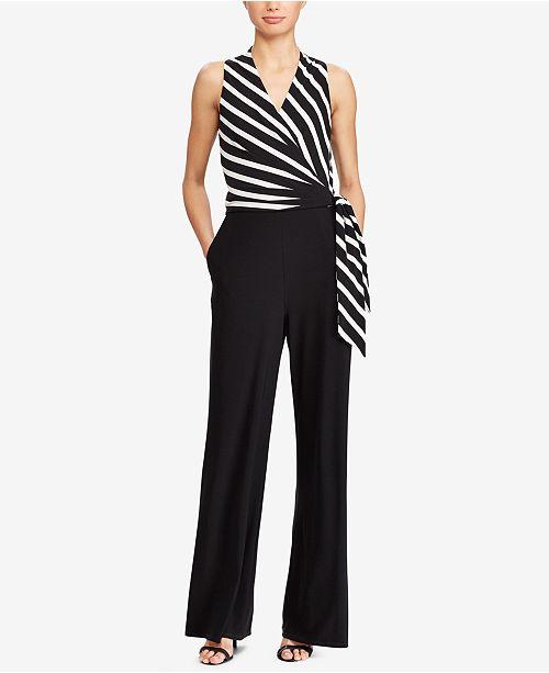 1af5750b2532 Lauren Ralph Lauren Striped Jumpsuit  Lauren Ralph Lauren Striped Jumpsuit  ...