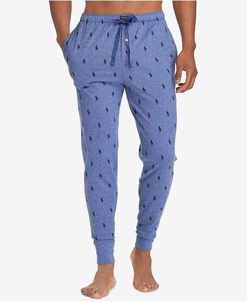 4a8b03f48 Polo Ralph Lauren Men s Lightweight Cotton Logo Pajama Pants ...