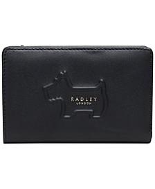 Radley Shadow Medium Zip-Top Leather Wallet
