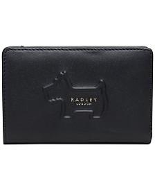 Radley London Radley Shadow Medium Zip-Top Leather Wallet