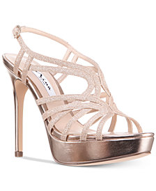 Nina Solina Platform Evening Dress Sandals
