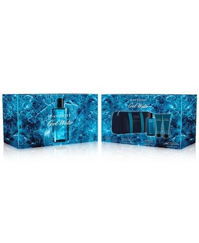 Davidoff Men's 4-Pc. Cool Water Gift Set