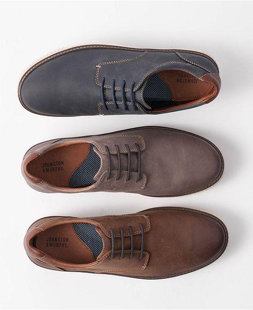 Johnston & Murphy Men's Walden Blucher Lace-Up Oxfords Men's Shoes MBOumunM4i