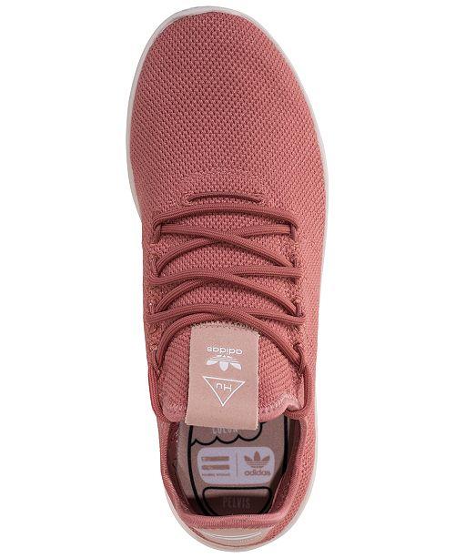 fcf5e6616dbf1 ... adidas Women s Originals Pharrell Williams Tennis HU Casual Sneakers  from Finish Line ...